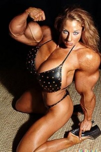 Extreme bodybuilder Girl 01